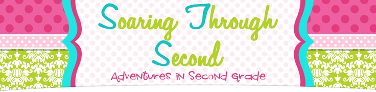 My friend Sandy writes a fabulous blog! She really is this fabulous and it's so fun to work with her! Check out Soaring Through Second Grade