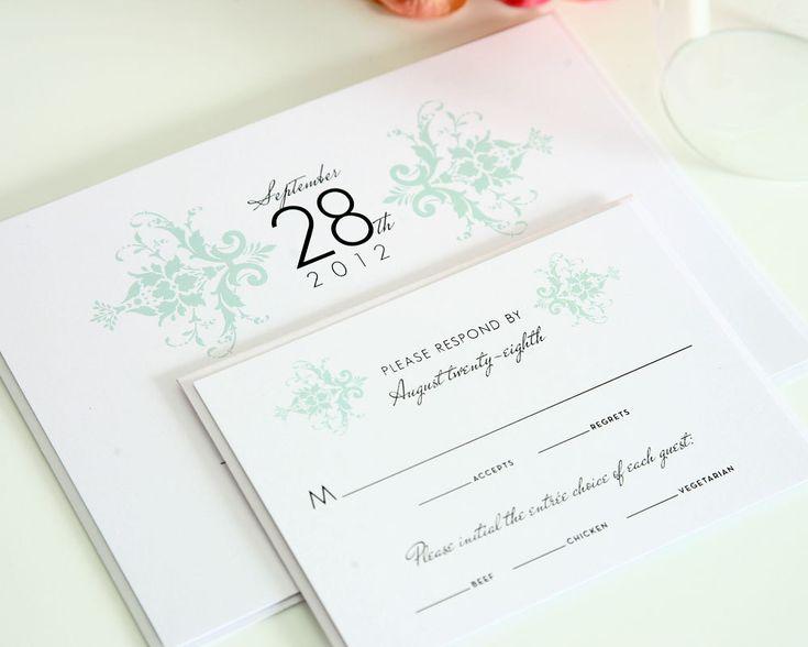 simple mint wedding invitation - Minted Wedding Invites