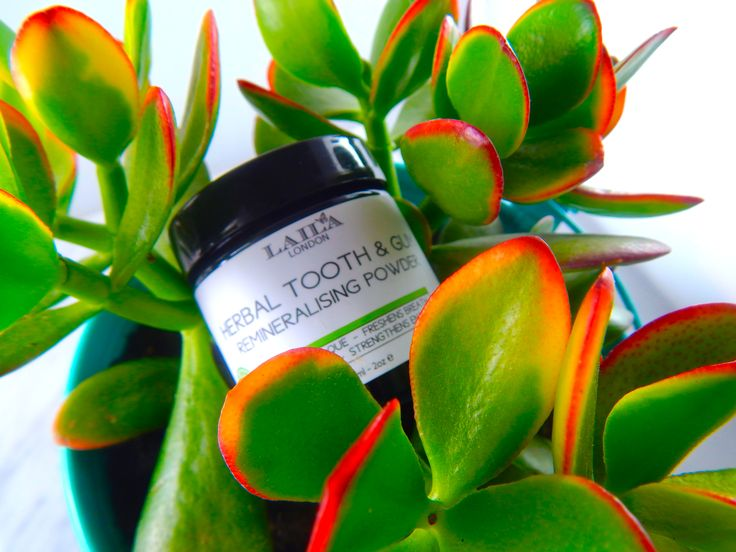 herbal tooth and gum powder. 100% organic & fluoride free.