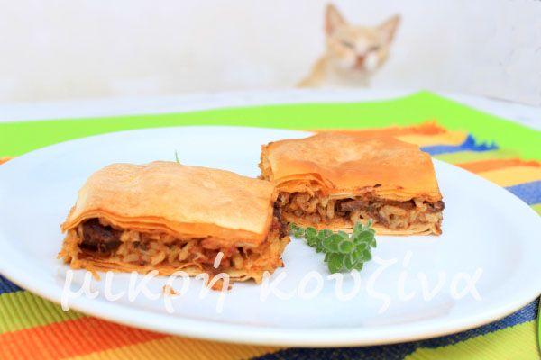 μικρή κουζίνα: Κεφαλλονίτικη κρεατόπιτα
