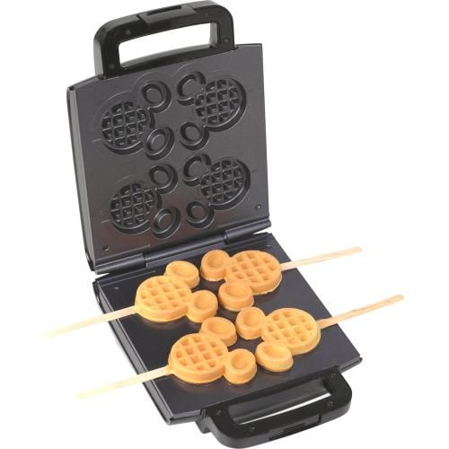 Mickey Mouse Waffle Maker. Thanks Bre!! I wish I would have seen this one for Matthew! Haha