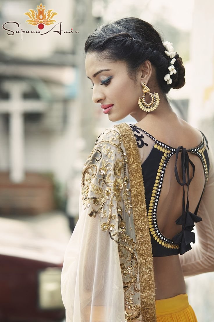 27 Best Blouse Designs Images On Pinterest  India Fashion -2143