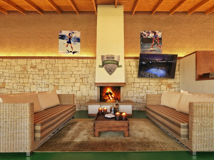 Astir Tennis Club Indoor Facilities