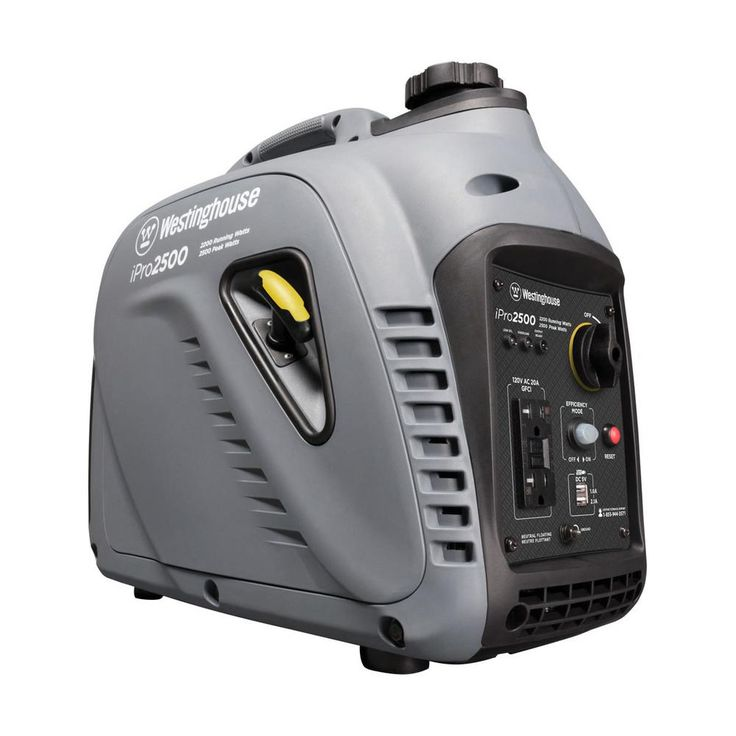 iPRO 2,200/2,500-Watt Gas Powered Professional Series Portable Inverter Generator with Osha Compliant Gfci Outlets