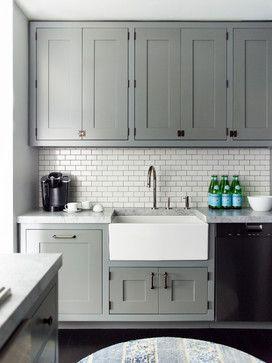 Duane Park Residence, love the tiles, love the grey...