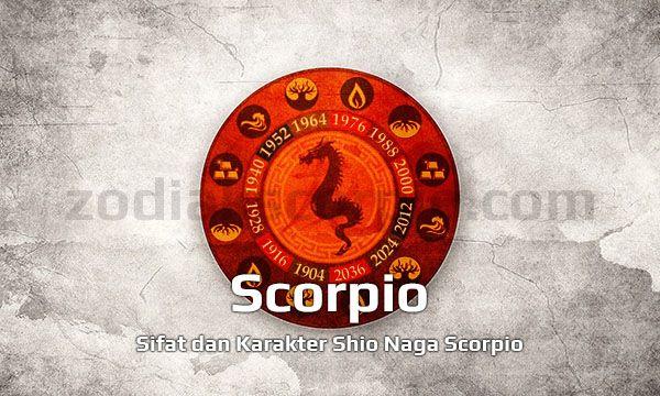 Sifat Kepribadian Shio Naga Scorpio yang Tegas
