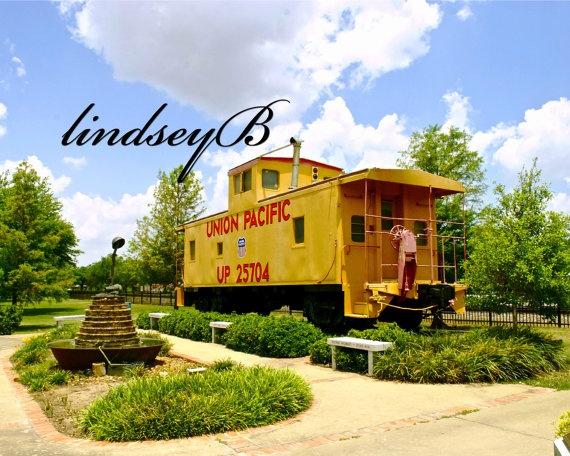 Train Station In Bunkie La By Lindseybphotography On Etsy 20 00