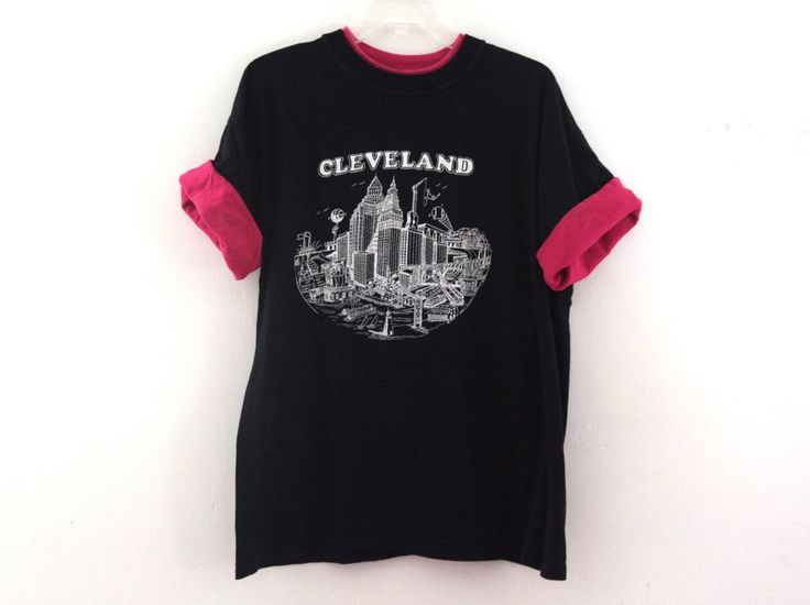 A personal favorite from my Etsy shop https://www.etsy.com/listing/484646453/vintage-90s-cleveland-tourism-tshirt