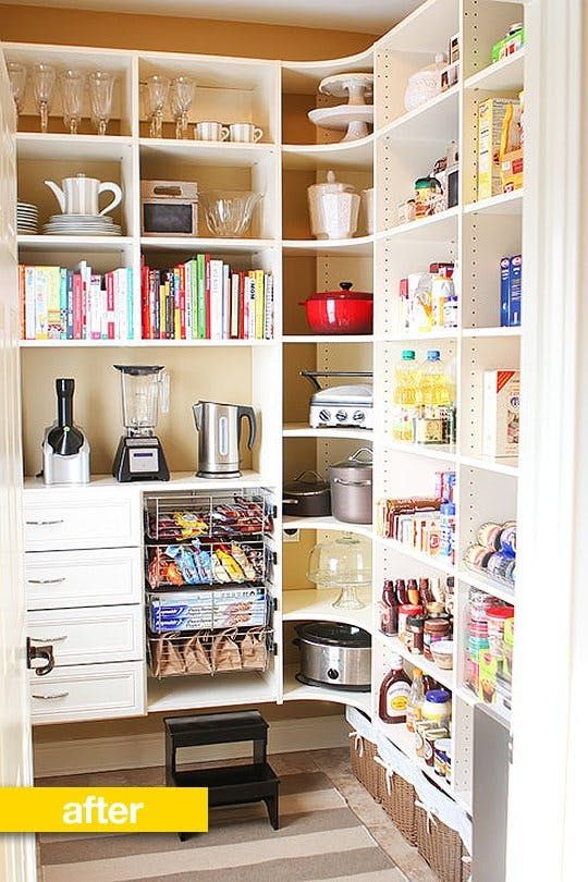 Pantry Before & After: A Laundry Room Becomes a Super Organized Pantry — Pantry Makeover