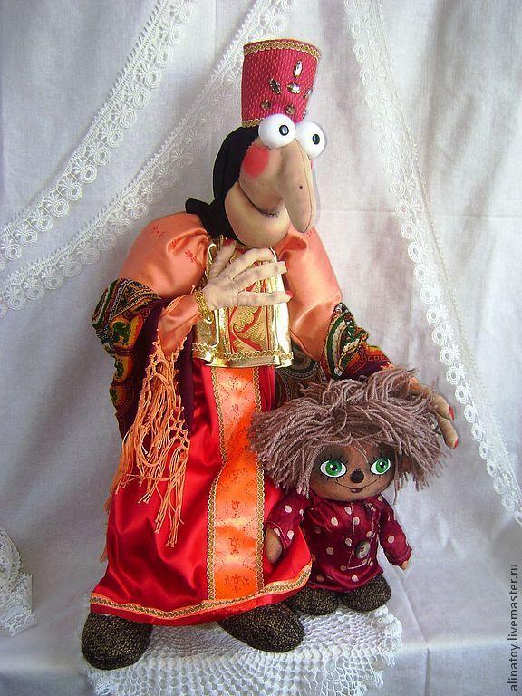 Купить Баба Яга, 73см рост, из м/ф Домовенок Кузя - баба яга, баба-яга