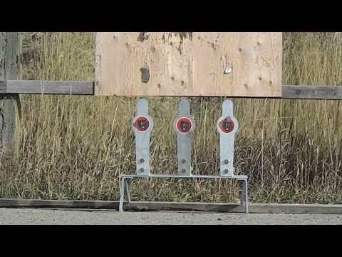 Best Steel Target Under $290: TRIFECTA AR 500 By Grizzly Targets   DennyDucet