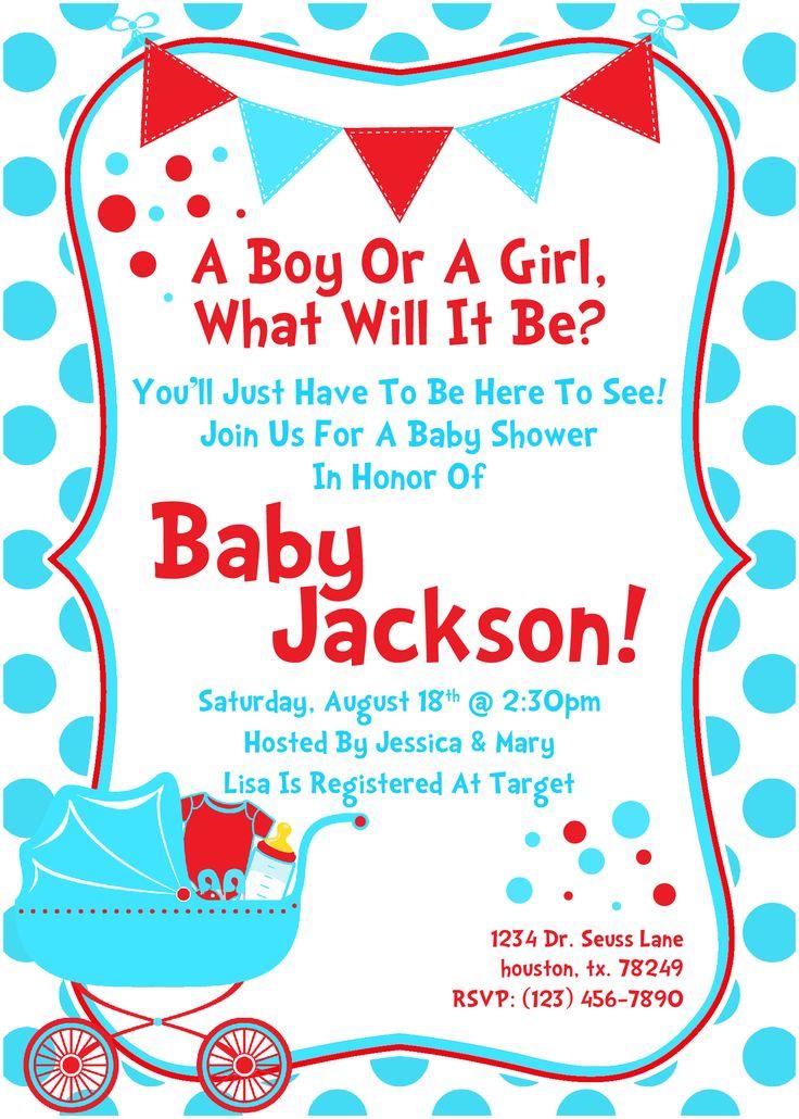 baby showers dr seuss birthday invitation 2 baby shower