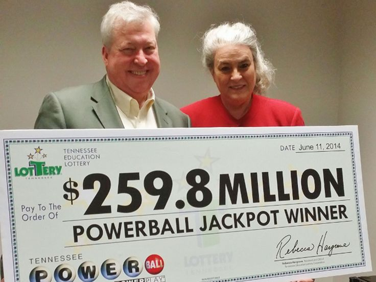 Sunday 06 July 2014 the largest prize ever to be won in Tennessee Lottery history, and at $259.8 million (£151.4m),