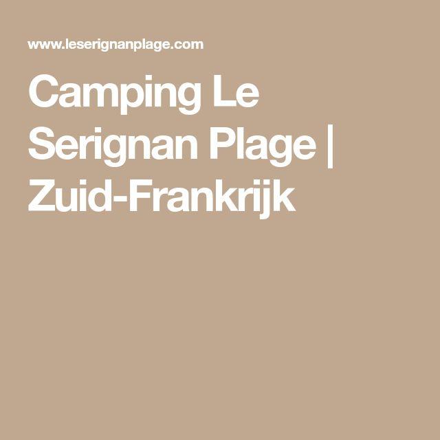 Camping Le Serignan Plage | Zuid-Frankrijk