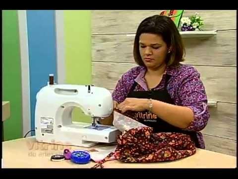 Bolsas em Patchwork com Renata Silva - Vitrine do Artesanato na TV - YouTube