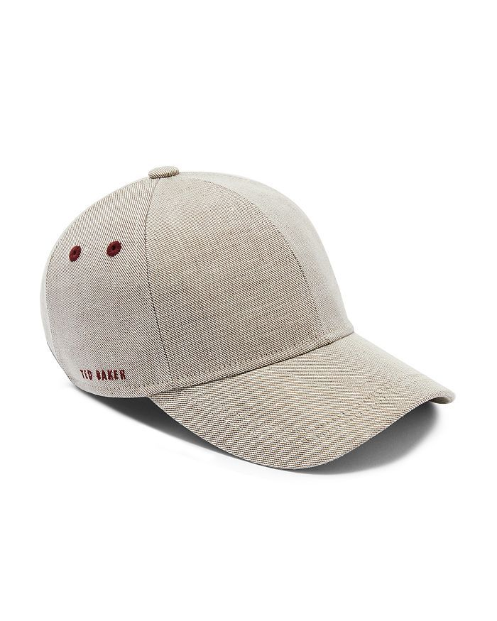 a452438b34975e Ted Baker - Eccles Coated Linen Baseball Cap | 20_Cap Trend in 2019 ...