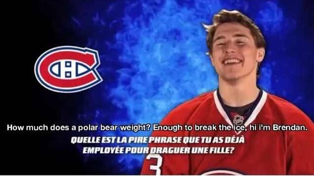 I love Brendan Gallagher. Being a bruins fan I should hate him, but I just can't. He's so freaking cute. I just really love him OKAY