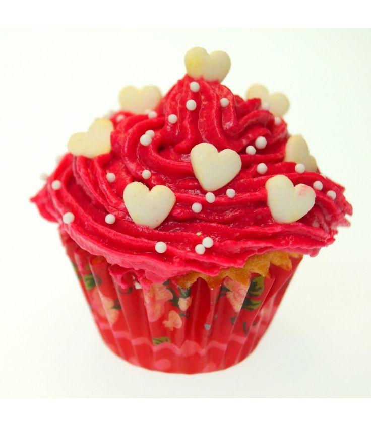 Mini Liebes Cupcake  – Backdeko, die Du ganz leicht schaffst