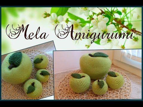 YouTube: presentazione Schema MELE AMIGURUMI :-)
