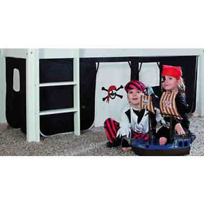 Vorhangset für Spielbett ELIYAS und ALEX (ohne Rutsche), Pirat