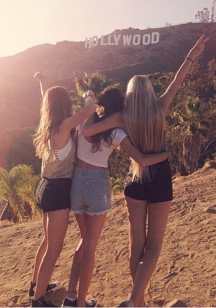 Take a pic in front of the Hollywood sign<--- definitely on bff bucket list!: