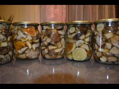 Как мариновать грибы на зиму в домашних условиях в банках с уксусом, луком. Маринуем белые грибы и дуньки, вкусные рецепты