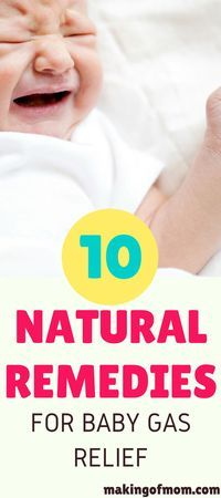 Gas. It's one of the biggest problems you'll face in your new mom life with a newborn. It's horrible not being able to help your baby while he cries. Here's 10 natural remedies you can try to help relieve baby gas pains - some you can try right now, no sp