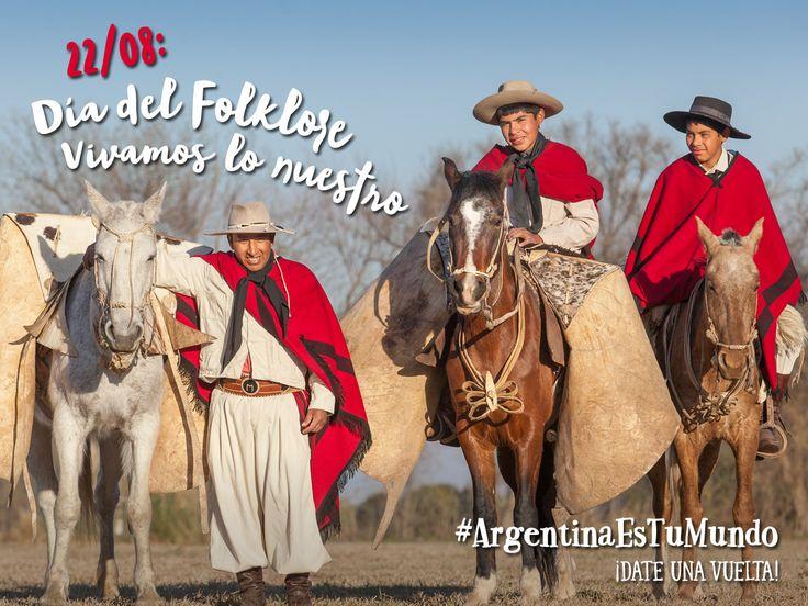 ¡Día del Floklore! Festejemos viajando y recorriendo nuestro país  #ArgentinaEsTuMundo #Argentina #viajar #viajes #turismo #turista #travel #maleta #experiencias #pasion #finde #escapada #vacaciones #destino #folklore #felizdia #nuestro #orgullo #identidad