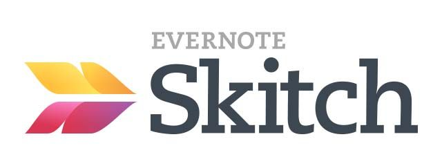 Aplikasi tulisan catatan di smartphone - Skitch