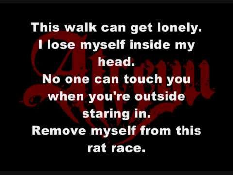 I do not own the rights to the audio in this video, the rights are owned by their respected owner.  Atreyu's song Becoming The Bull with lyrics in high quality.  Comment, rate and suscribe