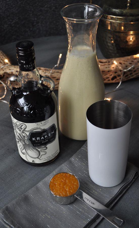 Home for the Holidays // Easy 1 Minute Pumpkin Spice Eggnog Latte Recipe | The Design Confidential