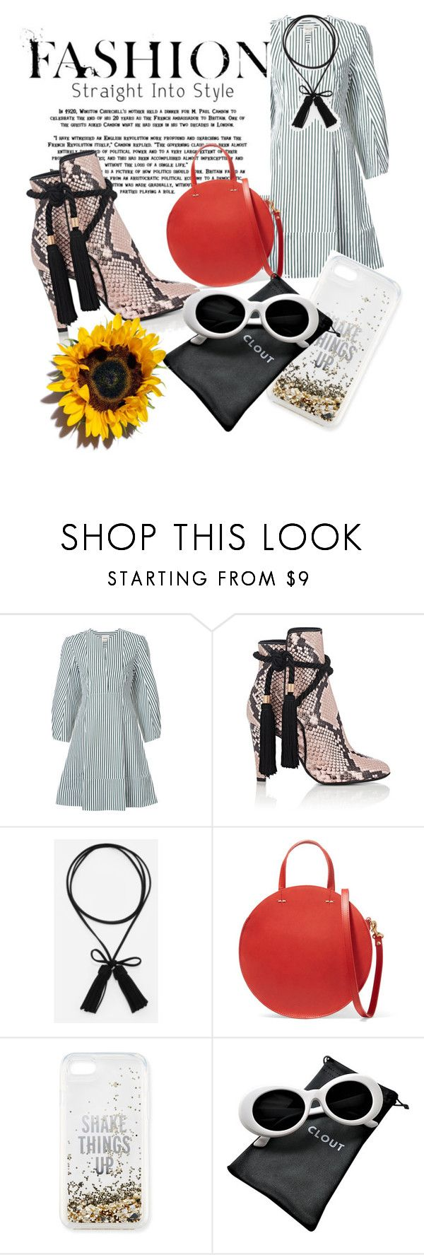 """Untitled #365"" by santyfebrina-nasution on Polyvore featuring Khaite, Philosophy di Lorenzo Serafini, CHARLES & KEITH, Clare V. and Kate Spade"