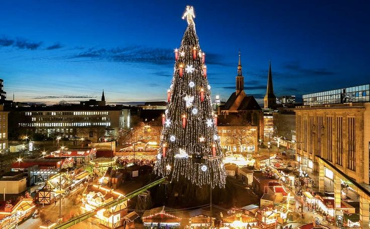 Dortmund Germany Christmas Market