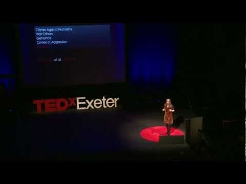 Ecocide, the 5th Crime Against Peace: Polly Higgins at TEDxExeter
