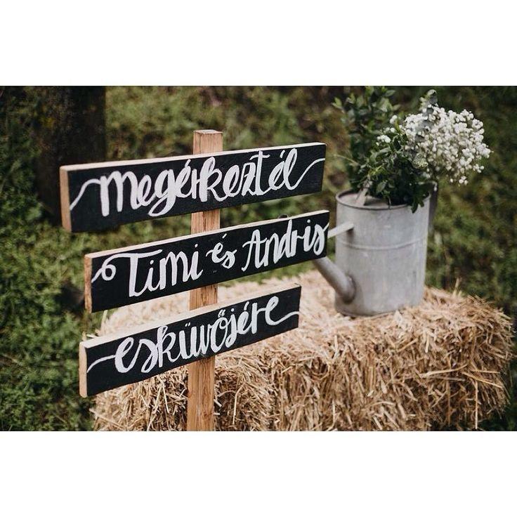 a diy esküvői dekoráció legfőbb hozzávalója: apu barkácstudása. :) #weddingdecor #vintage : @juststaynatural