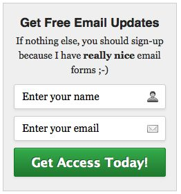 28 best UI/UX - Email Signup/ Opt-in Forms images on Pinterest ...
