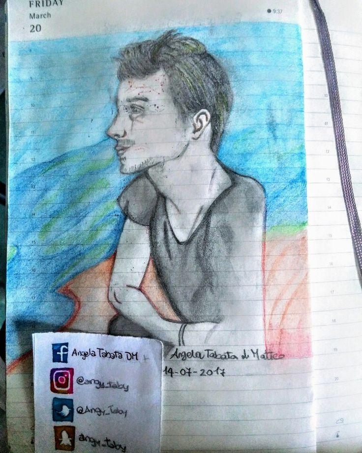 New portrait of Lee Ryan #drawing #illustration #fanart #drawingcelebs #blue #singer #pencildrawing #portrait #leeryan