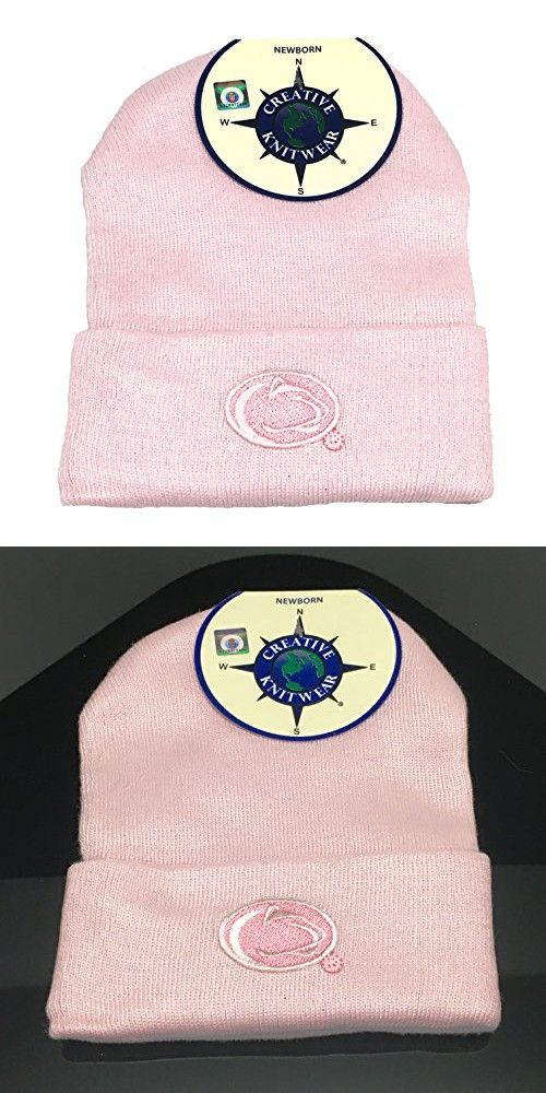 cf07bd6f221ad3 Penn State Nittany Lions Newborn Baby Knit Hat Cap (Newborn, Colored ...