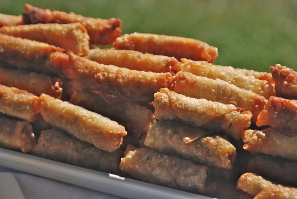 Lumpia (Filipino Egg Rolls) I can never get enough....