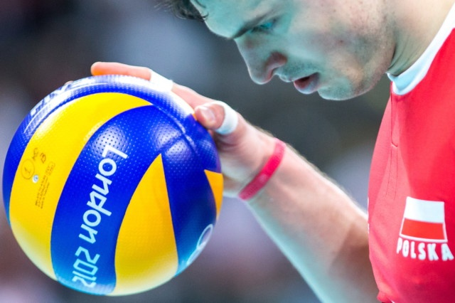 Zbigniew Bartman of Poland Volleyball Team at the Olympic Games in London #volleyball