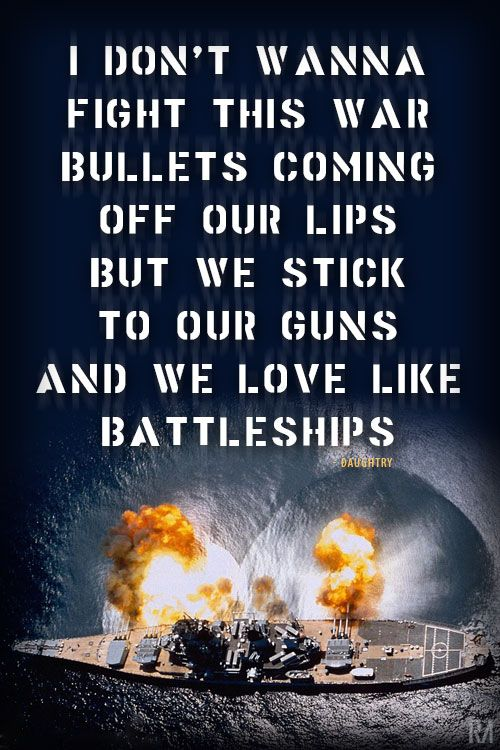 Daughtry Battleships Lyrics #Daughtry #Lyrics #Battleships
