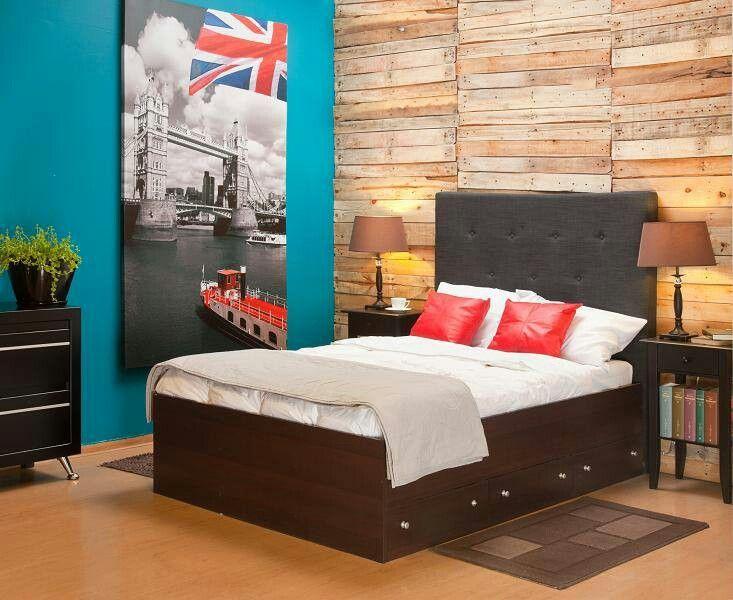 9 best decoracion recamaras images on pinterest bedroom for Decoracion recamaras