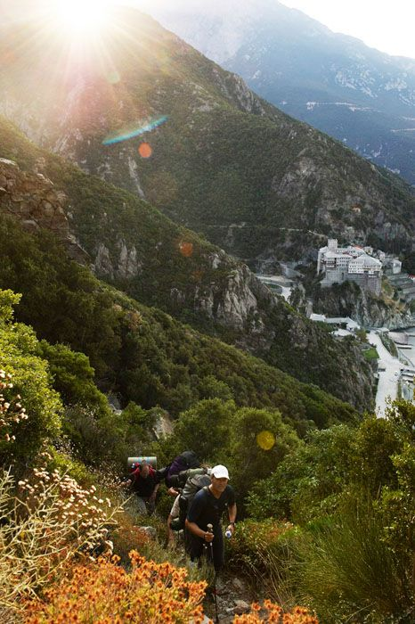 GREECE CHANNEL | Hiking on Mount Athos, Greece