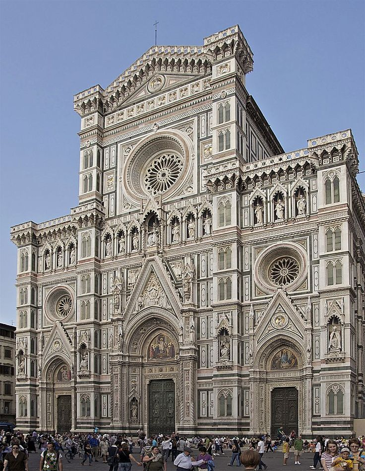 Façade cathédrale Florence - Kathedrale von Florenz – Wikipedia