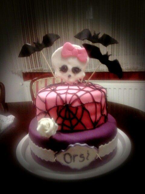 Monster high fondant cake... Monster high fondant torta..