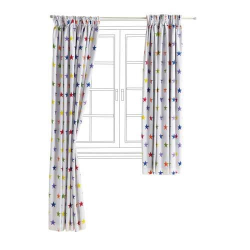 Children's Blackout Curtains - Rainbow Star | GLTC