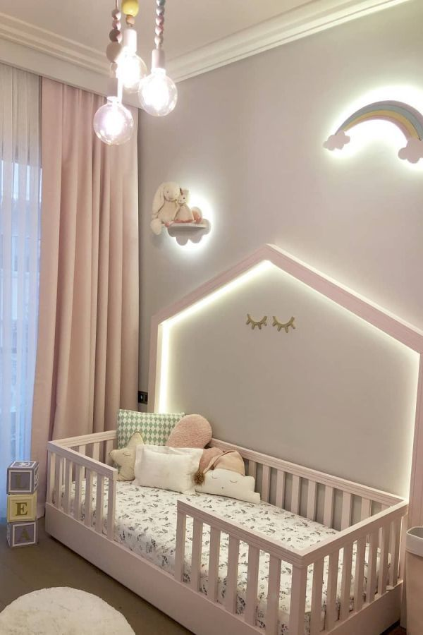 Awesome Nursery Room Ideas For Baby Girl 11 Nursery Room Design Nursery Baby Room Baby Girl Nursery Room