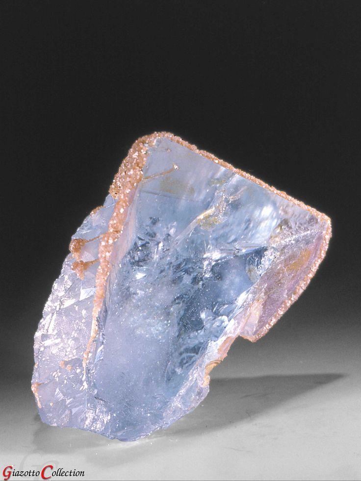 Blue Topaz with Lepidolite  Topaz - Simeon's Stone - 9th foundational stone in New Jerusalem