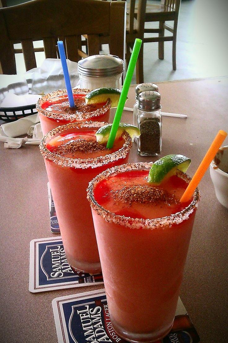 Mango and Chamoy Margarita :)  Tito's Restaurant In San Antonio, TX