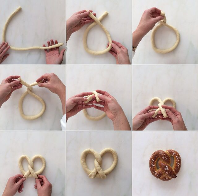 How to Shape a Pretzel from the Williams-Sonoma Test Kitchen!